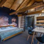 Studio Apartment für 4 Personen mit Dusche