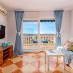 Romantik Apartmán pre 4 os. s 2 spálňami s výhľadom na more (s možnosťou prístelky)