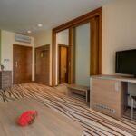 Zweibettzimmer mit Dusche (Zusatzbett möglich)