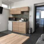 Apartament cu cadita de dus cu bucatarie proprie pentru 2 pers. (se poate solicita pat suplimentar)