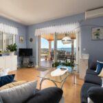 Apartament cu aer conditionat cu vedere spre mare cu 3 camere pentru 8 pers. A-2940-d