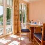 Apartman pro 4 os. se 2 ložnicemi s výhledem do zahrady v přízemí
