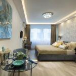 Apartman s manželskou postelí s 1 ložnicí na poschodí