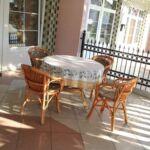 2-Zimmer-Apartment für 5 Personen Parterre mit Aussicht auf den Garten