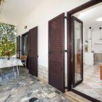 Légkondicionált teraszos 2 fős apartman 1 hálótérrel