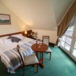 Camera twin cu balcon cu aer conditionat