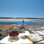 Pogled na more Klimatizirano apartman za 5 osoba(e) sa 2 spavaće(om) sobe(om)