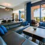 Apartman s klimatizací pro 6 os. se 3 ložnicemi s výhledem na moře
