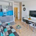 Pogled na more Klimatizirano apartman za 3 osoba(e) sa 1 spavaće(om) sobe(om)