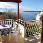 Pogled na more Klimatiziran apartman za 4 osoba(e) sa 1 spavaće(om) sobe(om)