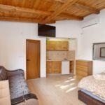 Földszintes légkondicionált 3 fős apartman 1 hálótérrel