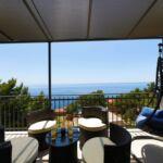 Apartament 6-osobowy z klimatyzacją z widokiem na morze z 2 pomieszczeniami sypialnianymi