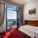 Pokój 1-osobowy z balkonem z widokiem na morze