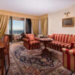 Rezydencja pokój 3-osobowy z balkonem z widokiem na morze z 2 pomieszczeniami sypialnianymi