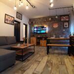 Apartman s klimatizací pro 6 os. se 2 ložnicemi s výhledem na moře