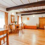 Apartment für 3 Personen mit Dusche und Eigner Küche (Zusatzbett möglich)