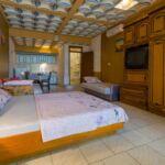 1-Zimmer-Apartment für 4 Personen Parterre mit Aussicht auf den Hof