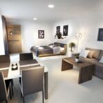 Apartament studio cu cadita de dus pentru 2 pers.