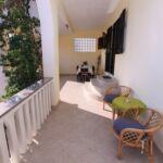 Apartament cu aer conditionat cu terasa cu 2 camere pentru 4 pers.