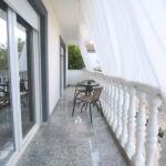 Apartament cu aer conditionat cu terasa cu 1 camera pentru 3 pers. (se poate solicita pat suplimentar)