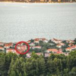 Apartament cu aer conditionat cu vedere spre mare cu 2 camere pentru 5 pers. A-18054-d