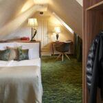 Tetőtéri Deluxe franciaágyas szoba