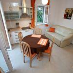 Apartament 3-osobowy na piętrze z widokiem na ogród z 2 pomieszczeniami sypialnianymi