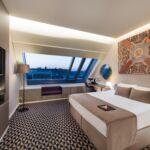 Tetőtéri Superior franciaágyas szoba