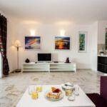 4-Zimmer-Apartment für 7 Personen Obergeschoss mit Aussicht auf das Meer