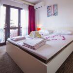 Pogled na more Pogled na grad soba sa francuskim krevetom (za 2 osoba(e))