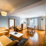 2-Zimmer-Apartment für 4 Personen mit Aussicht auf den Fluss