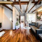 Penthouse 2-Zimmer-Apartment für 6 Personen mit Terasse
