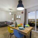 Tengerre néző légkondicionált 6 fős apartman 2 hálótérrel A-17869-f