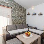 Apartament cu aer conditionat cu vedere spre mare cu 1 camera pentru 4 pers. A-17885-b