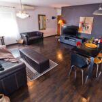 Apartament cu aer conditionat cu vedere spre mare cu 2 camere pentru 4 pers. A-17982-a