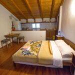 Apartament cu aer conditionat cu terasa cu 1 camera pentru 2 pers. AS-18034-c
