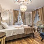 Pokoj s klimatizací s manželskou postelí s výhledem na moře S-18081-b