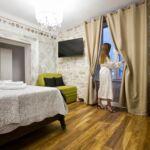 Pokoj s klimatizací s manželskou postelí s výhledem na moře S-18081-d