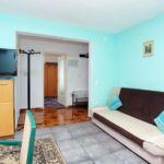 Apartament cu aer conditionat cu vedere spre mare cu 1 camera pentru 5 pers. A-18145-a