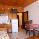 Apartman s klimatizací pro 3 os. s 1 ložnicí s výhledem na moře AS-18211-a