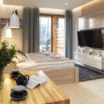 Apartament 2-osobowy na parterze Studio z 1 pomieszczeniem sypialnianym