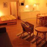 Saját teakonyhával Studio 2 fős apartman (pótágyazható)