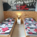 Alagsori fürdőszobás kétágyas szoba (pótágyazható)
