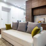 Apartament standard cu chicineta proprie cu 2 camere pentru 3 pers.