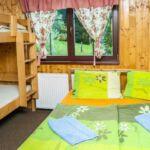 Čtyřlůžkový pokoj (sociální zařízení na pokoji)