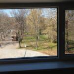 Parkra néző emeleti 2 fős apartman 1 hálótérrel