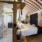 Tengerre néző emeleti franciaágyas szoba