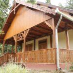 Apartman s terasou pro 8 os. se 2 ložnicemi s výhledem na les