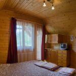 Teraszos franciaágyas szoba