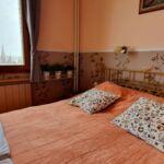 Camera dubla cu balcon cu vedere spre rau